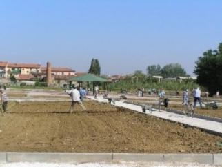 7tonnellate di compost agli orti di Salviano
