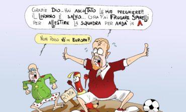 """Rima: """"Poesia sulla salvezza del Livorno"""""""