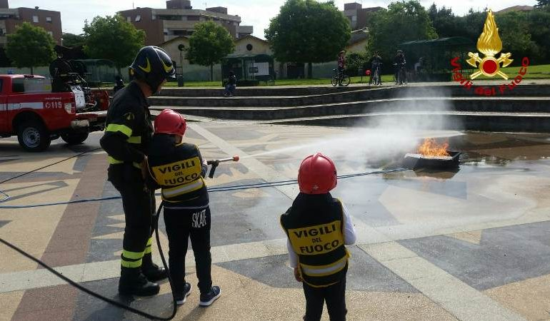 Pompieropoli. Progetto su legalità e sicurezza stradale