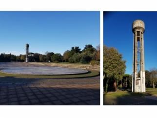 Al via la demolizione della torre piezometrica al Parco Pertini
