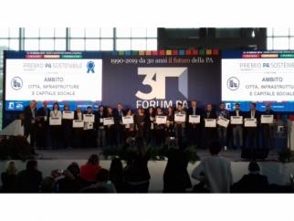 Illuminazione intelligente, progetto comunale premiato a Roma
