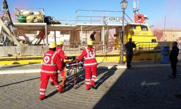 Porto, incidente sul lavoro: ferito 35enne