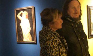 Zucchero alla mostra Modigliani
