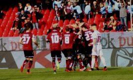 Salernitana Livorno 1-0 Addio alle armi
