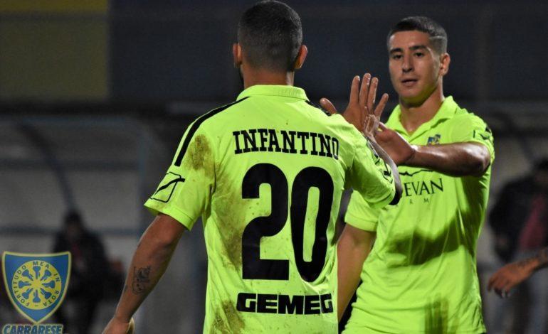 Livorno Carrarese 1-2 Gara Decisa nel Primo Tempo