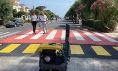 Viale Italia, al via i lavori per la realizzazione di attraversamenti rialzati