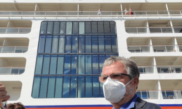 Vaccino, somministrate 108 dosi a marittimi a bordo di nave da crociera