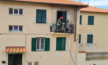 In fiamme appartamento ad Antignano